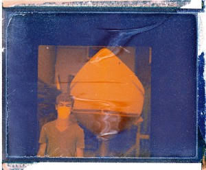 Polaroid negative