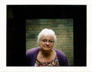 polaroid Fuji FP100c with  Bronica