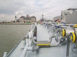 Tanker  Poseidon, Antwerpen